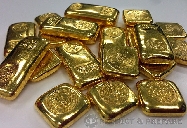 Gold Bars - PredictandPrepare.com